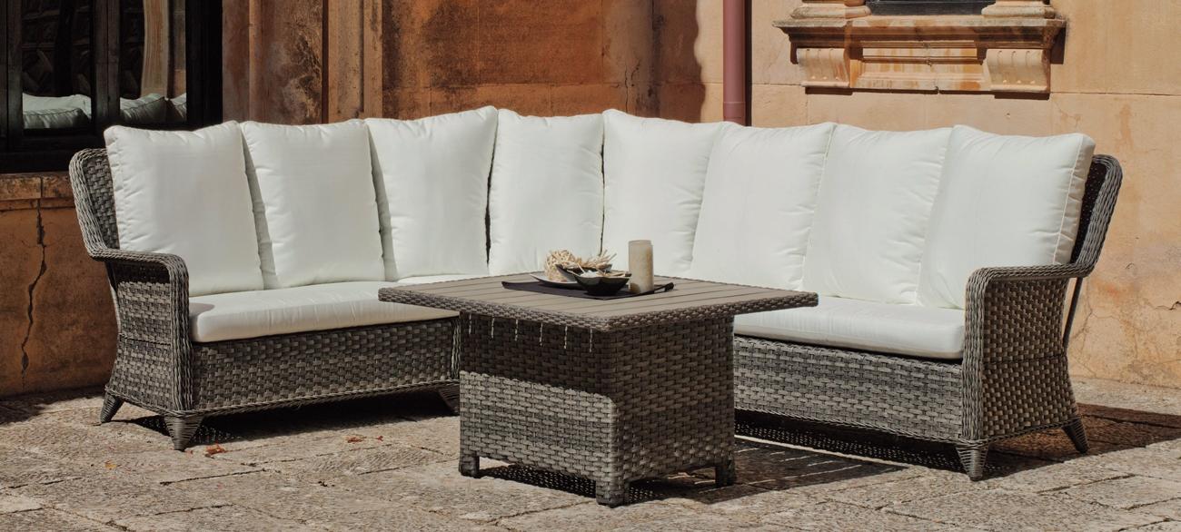 Sofa de lujo para exteriores Abigeil - Sofa de lujo para exteriores Abigeil