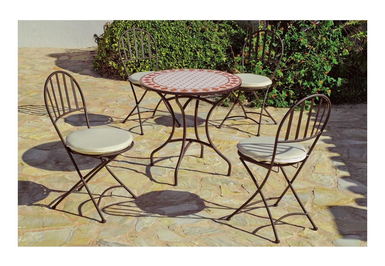 Set sillas o mesa mosaico modelo Salamanca/Chaben 75