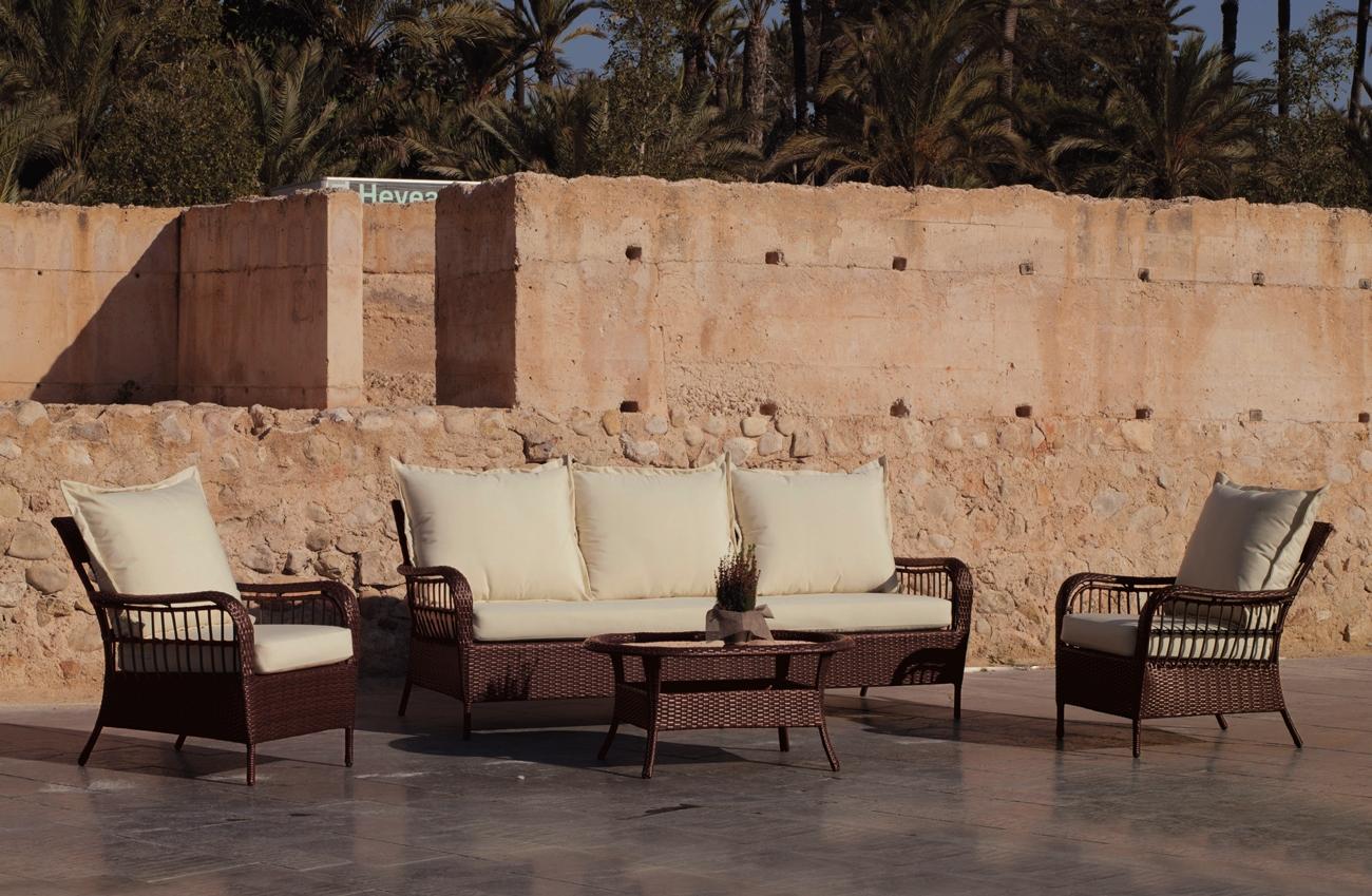 Set sofa para exteriores Santacruz 8 - Set sofa para exteriores Santacruz 8