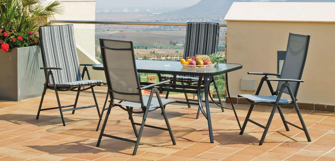 Set sillas y mesa modelo Sulam 151 - Set sillas y mesa modelo Sulam 151