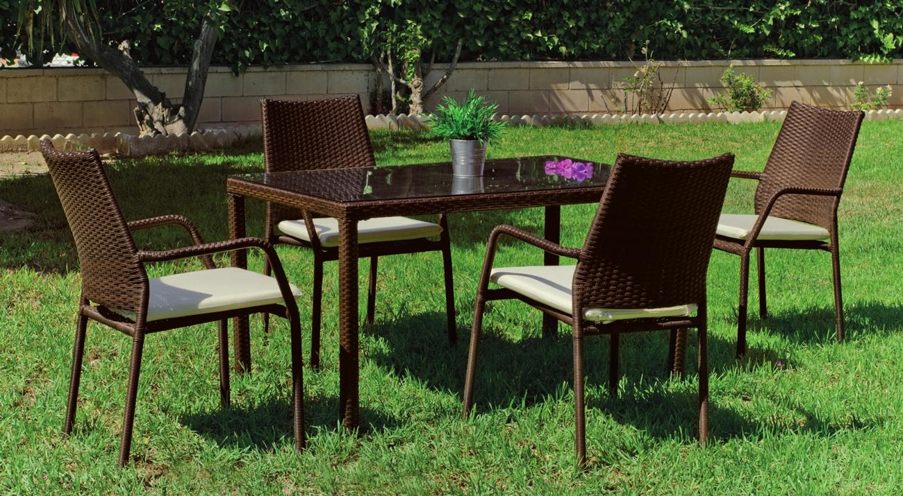 Mesa o sillas de jardín Tarsos 130 - Mesa o sillas de jardín Tarsos 130