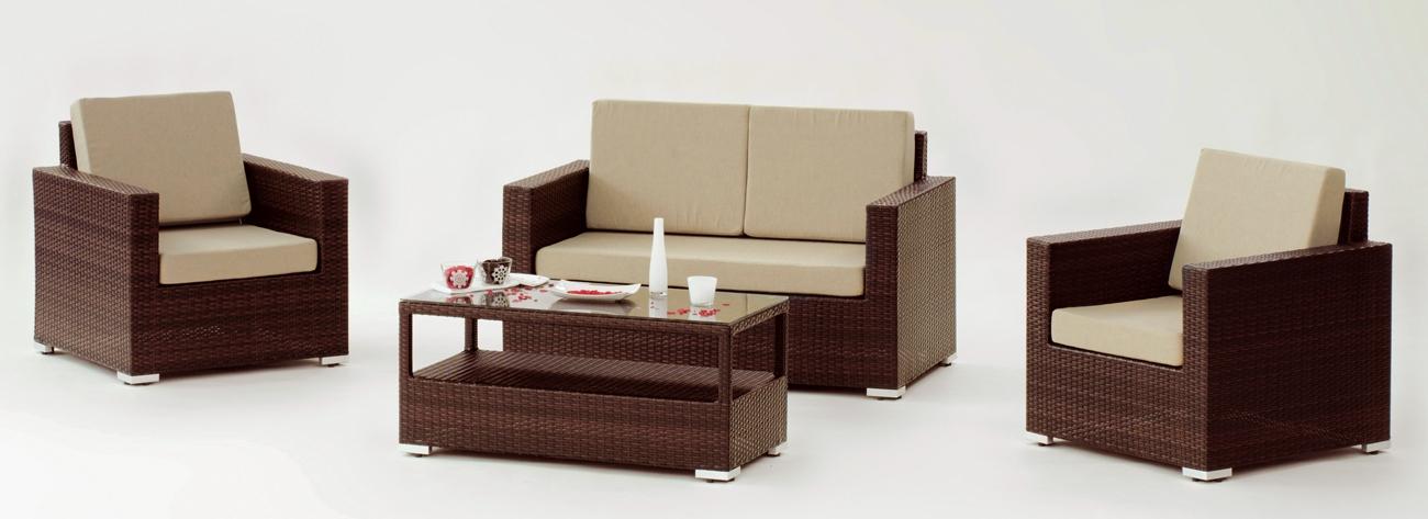 Set muebles de lujo para exteriores Lisbon Endur - Set muebles de lujo para exteriores Lisbon Endur