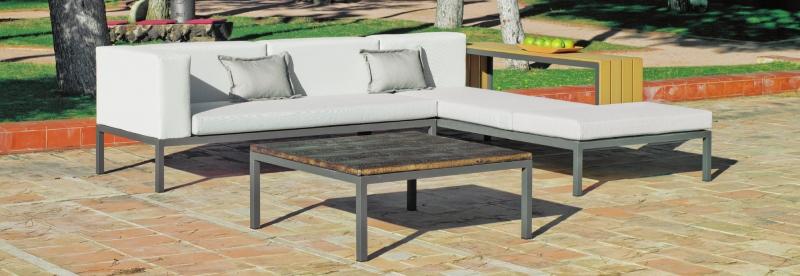 Sofa de exterior VALENTINE - Sofa de exterior VALENTINE