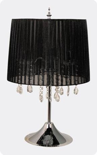 Lámpara de sobremesa Black Silk - Lámpara de sobremesa Black Silk