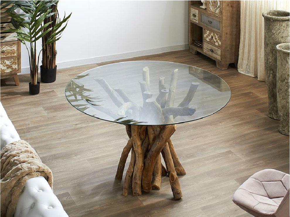Mesas de comedor redondas, mesas circulares, tienda de muebles