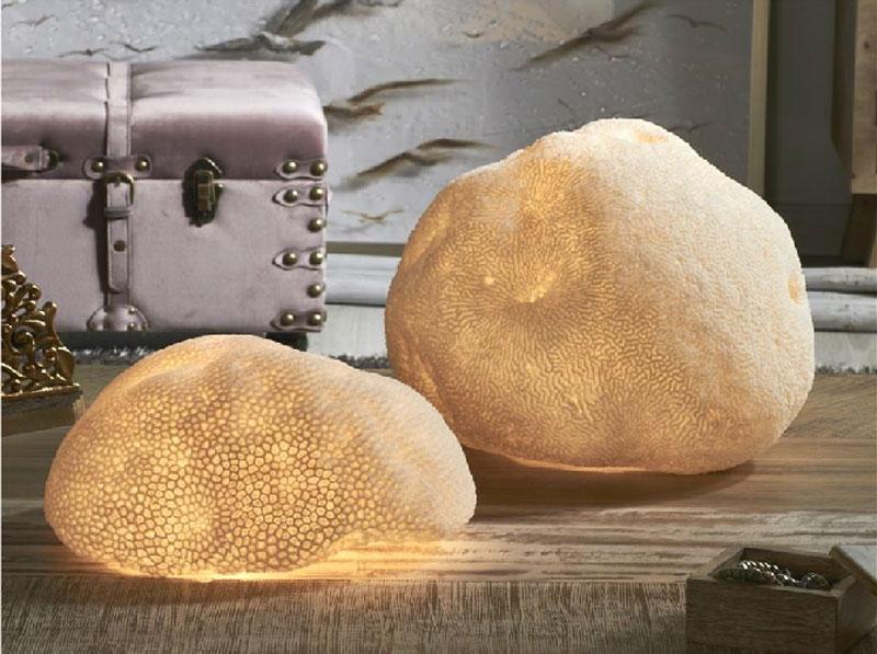 Lampara sobremesa Sandstone Esponja de Mar