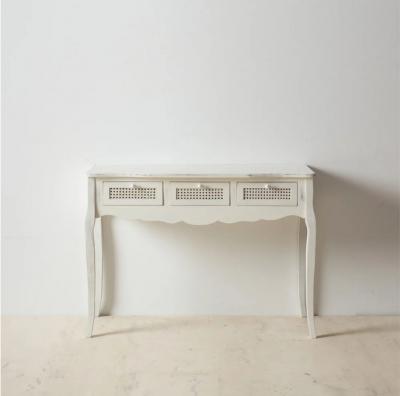 Consola Ibe  - Consola Ibe en madera natural