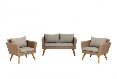 Set Sumie de sofá y 2 butacas