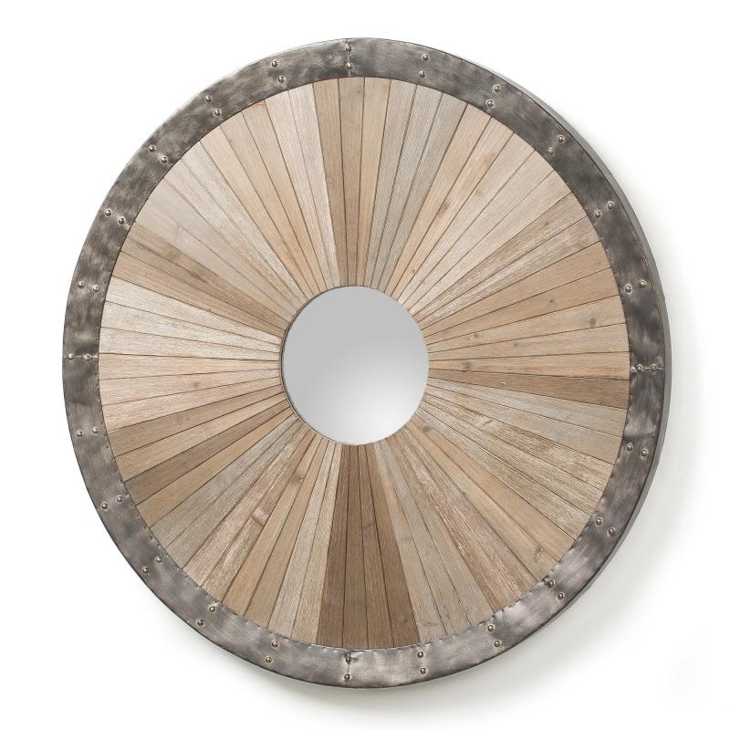 Espejo Roko - ROKO Espejo madera abeto natural