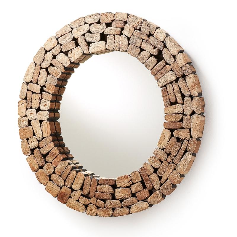 Espejo ELLIPSE - ELLIPSE Espejo madera reciclada
