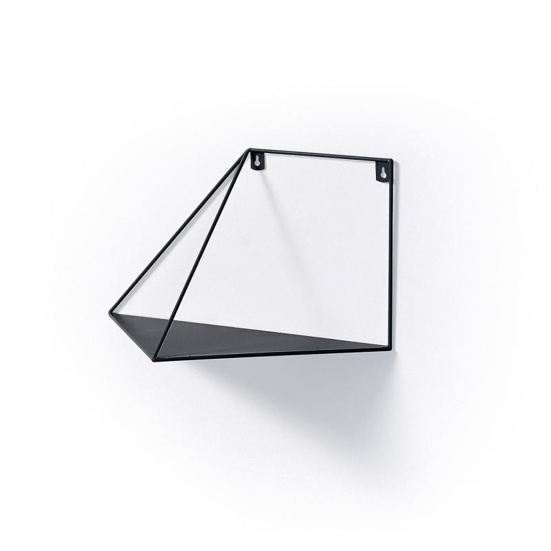 Estantería UPP 3 - Estantería UPP 3, Estantería de pared metal negro