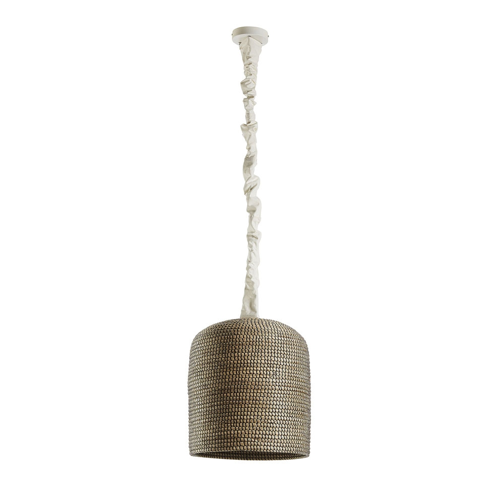 NADIRA Lámpara techo fibras naturales