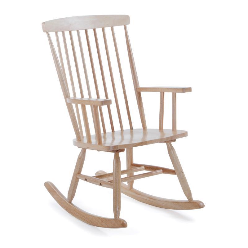 Silla balancín Terence - Silla balancín Terence, Silla balancín madera natural