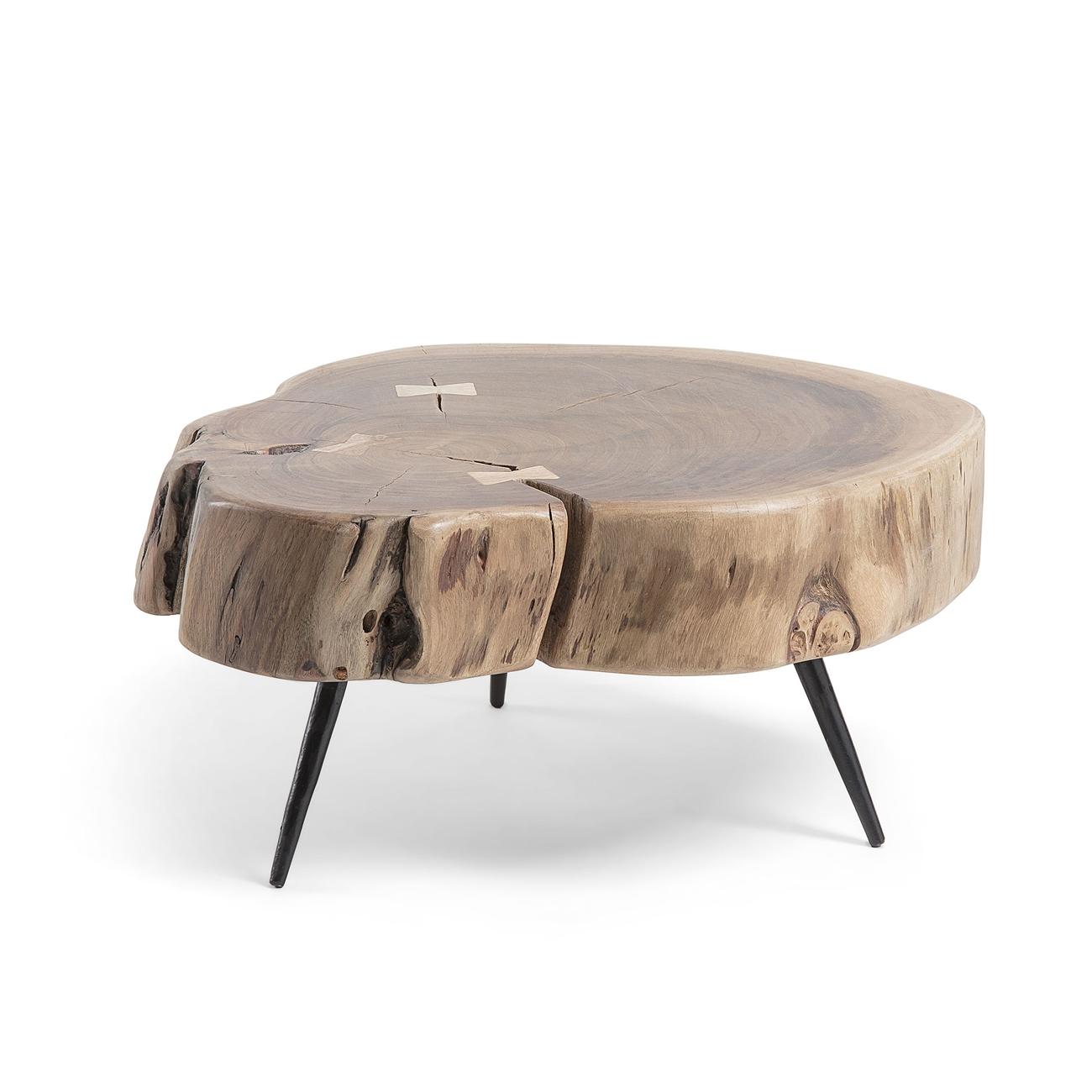 Mesa Ryder - RYDER Mesa auxiliar metal madera acacia