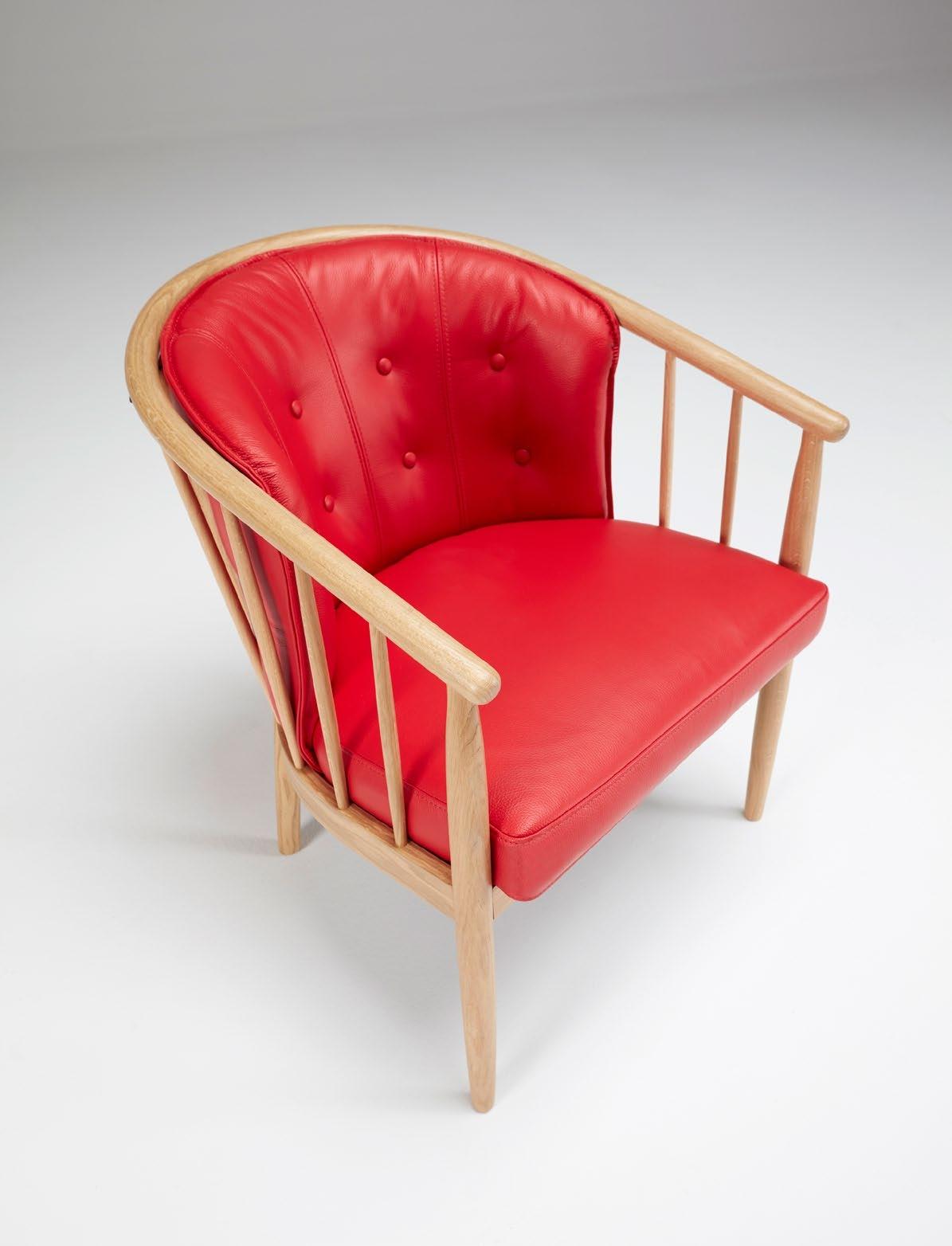 Sillón Anna - El fabricante danés Kragelund crea asientos con una gran comodidad y un aspecto distintivo. Los sillones de Kragelund, con su encanto escandinavo, están hechos para sentirse bien.