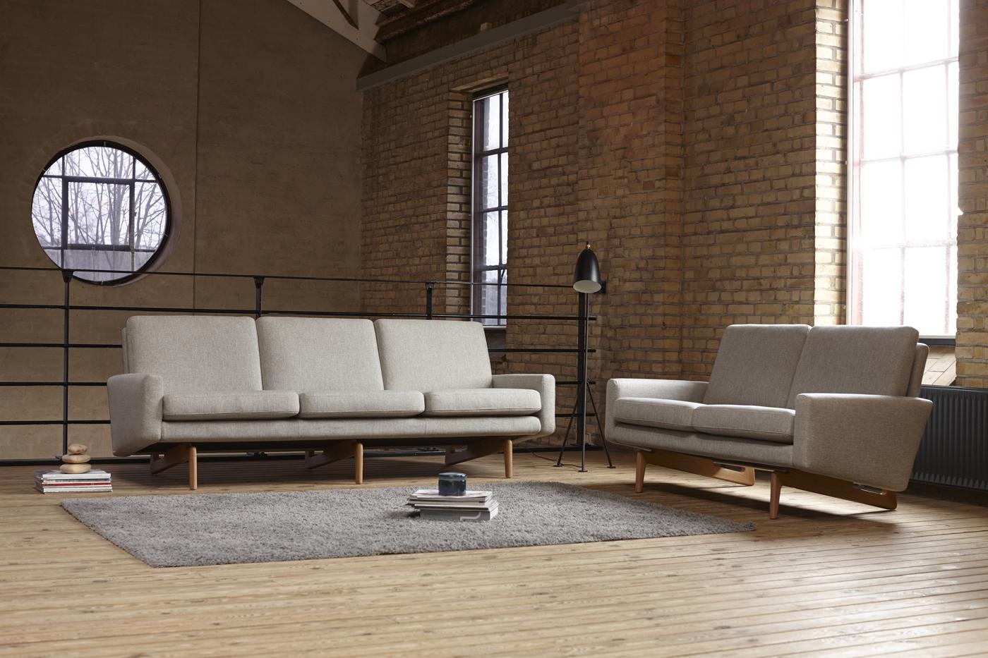Sofa Egsmark - Sofá de elegante diseño. Características modernas en formas clásicas y encantadoras