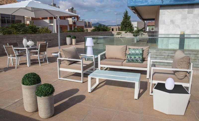 Tienda de muebles de terraza y jard n muebles modernos de for Oferta conjunto terraza