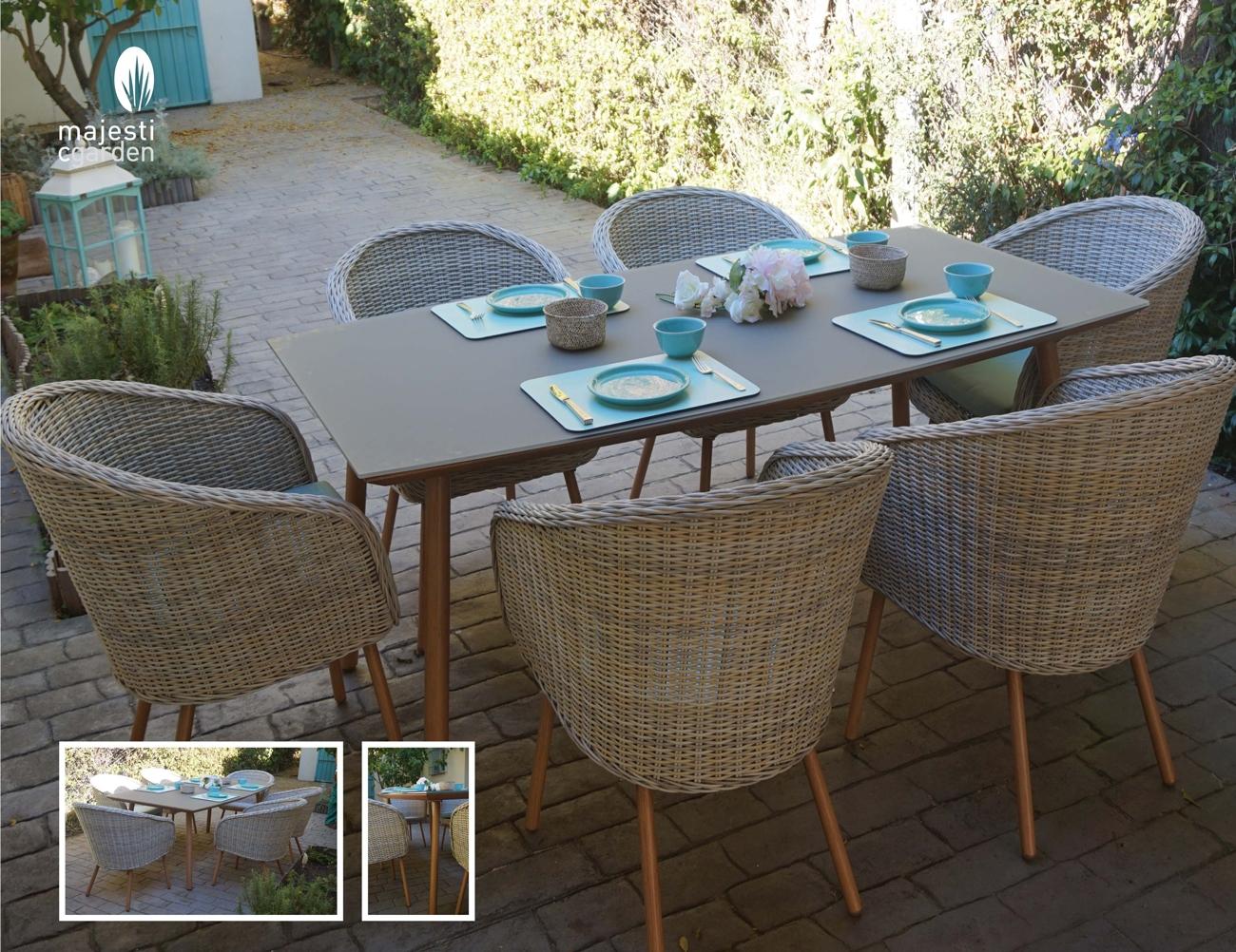 Set de mesa para exterior Lanzarote
