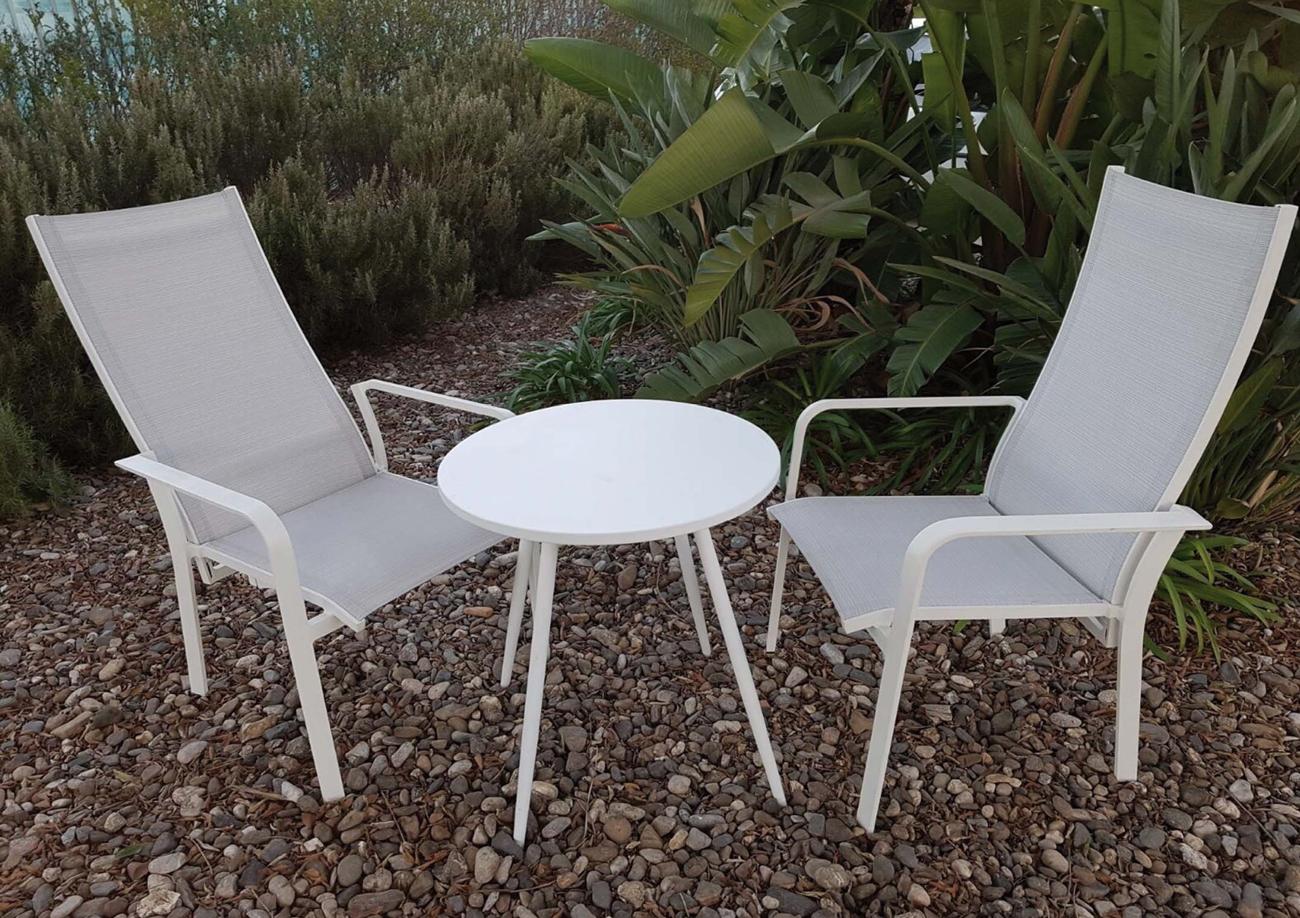 Juego de mesa y sillas para exterior modelo OLIMPIC - Juego de mesa y sillas para exterior modelo OLIMPIC de Majestic Garden