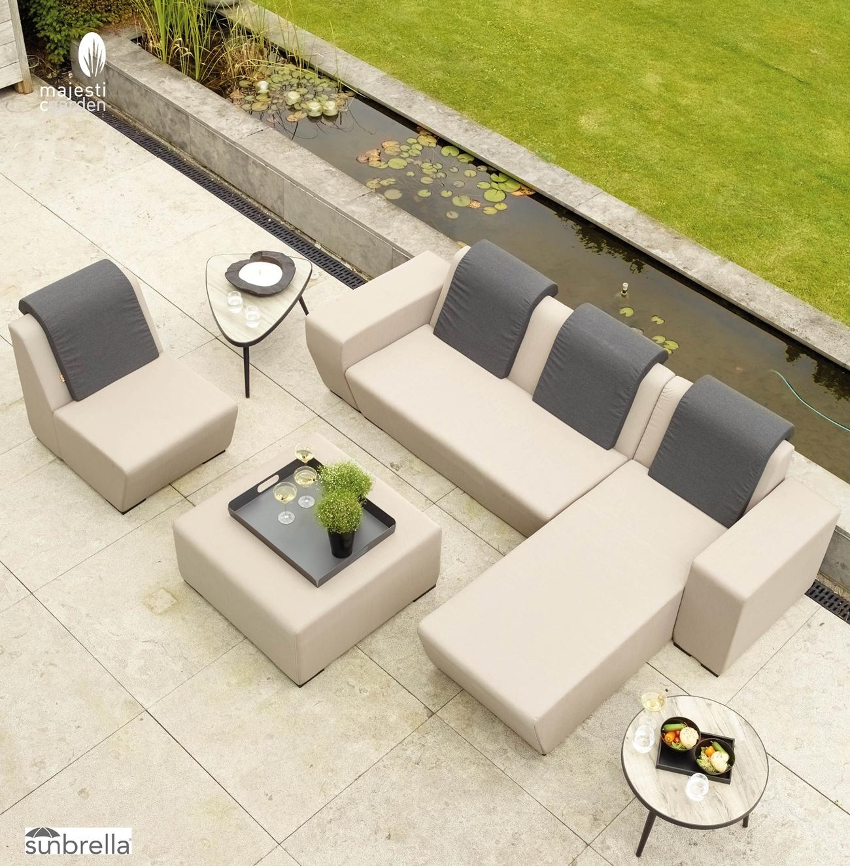SET SOFA DE EXTERIOR NUNA - Set para terraza o jardín modelo NUNA de Majestic Garden