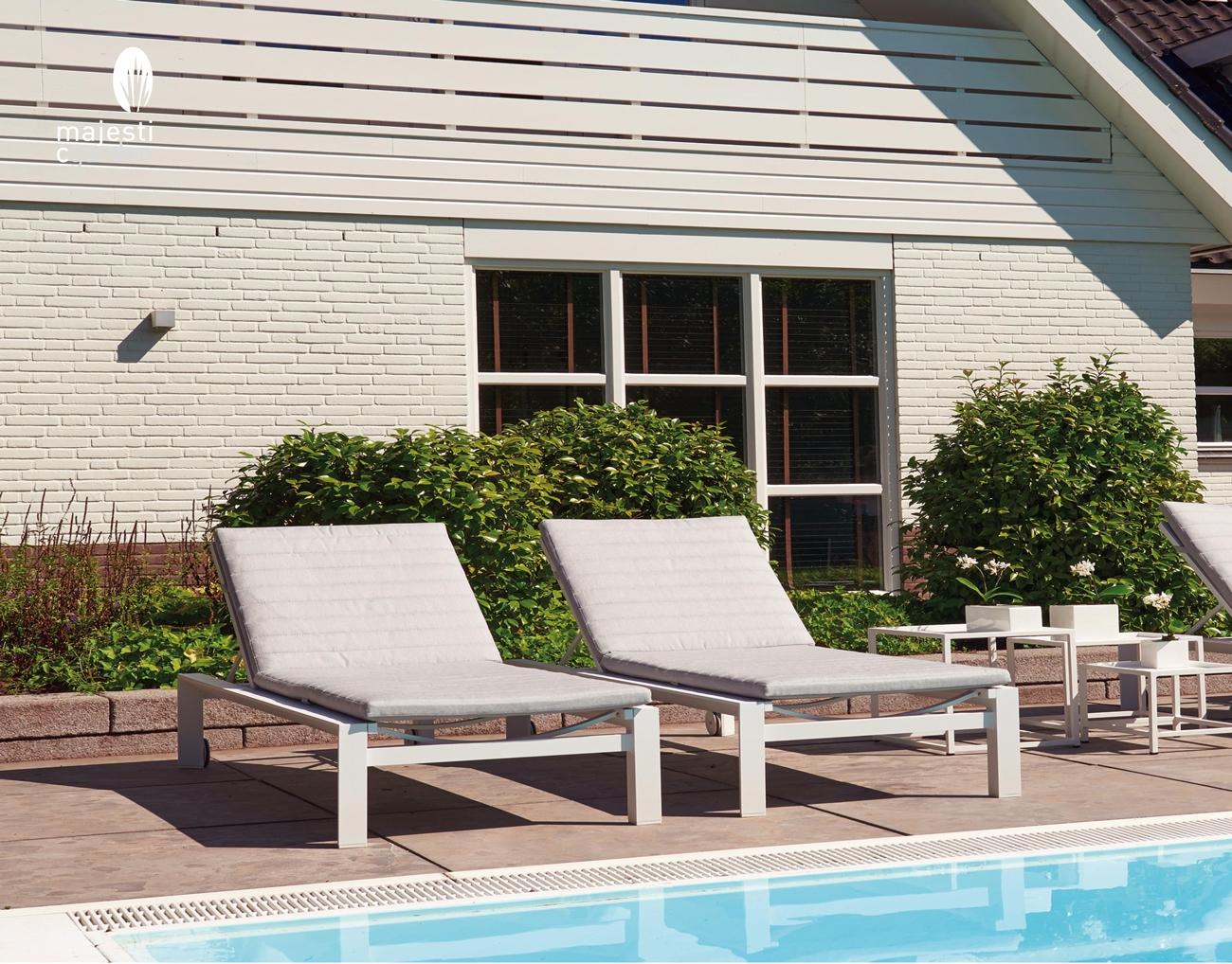 Tumbona para exterior modelo DELTA - Tumbona para exterior modelo DELTA de Majestic Garden
