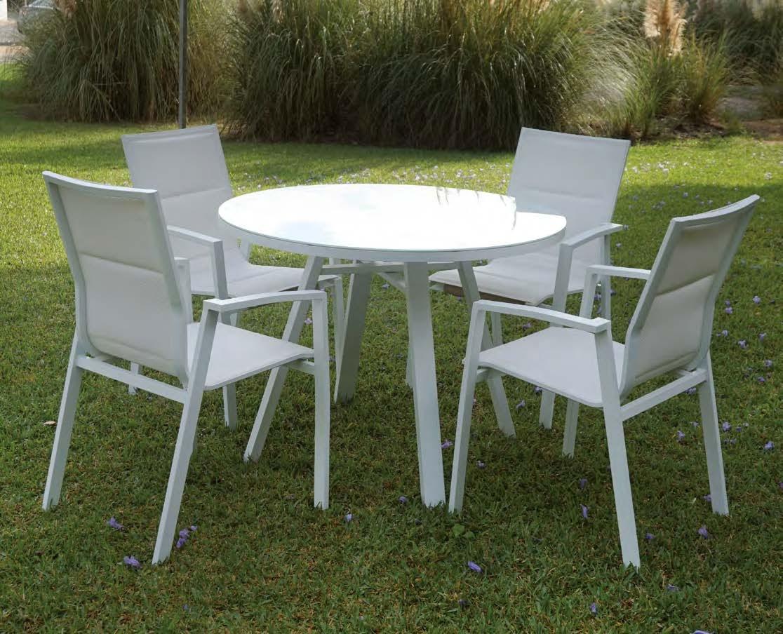 Mesa para exterior o sillones ZURICH - Juego de mesa y sillas para exterior modelo ZURICH de Majestic Garden