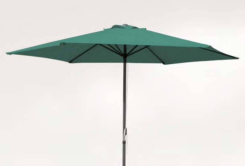 Parasol en acero y poliester 1127
