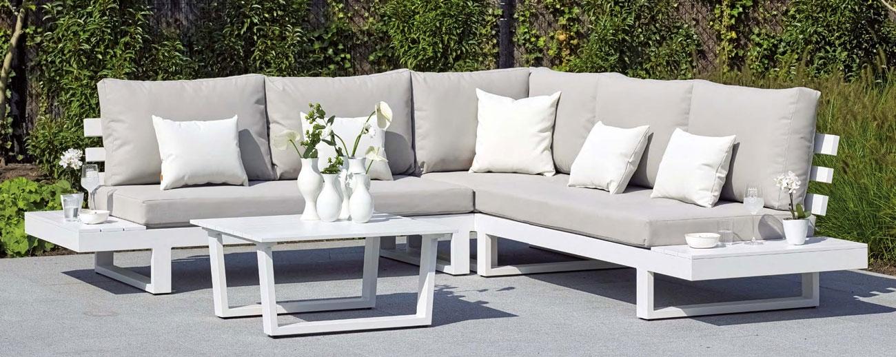 SET SOFA DE EXTERIOR IBIZA - Set para terraza o jardín modelo IBIZA de Majestic Garden