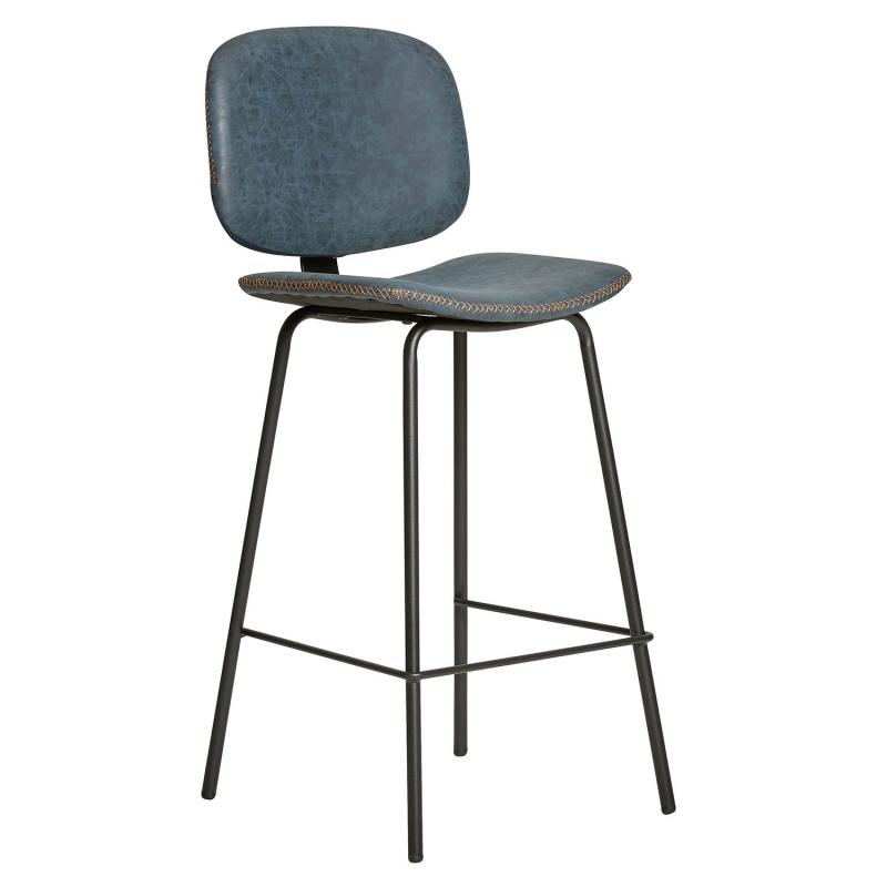 Taburete alto con respaldo y sillas altas de cocina for Sillas de escritorio altas