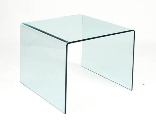 Mesa rincon Cheval 60 - Mesa 60x60 cristal