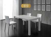 Mesa de comedor lacada y 4 sillas 3 - Mesa de comedor y 4 sillas 3