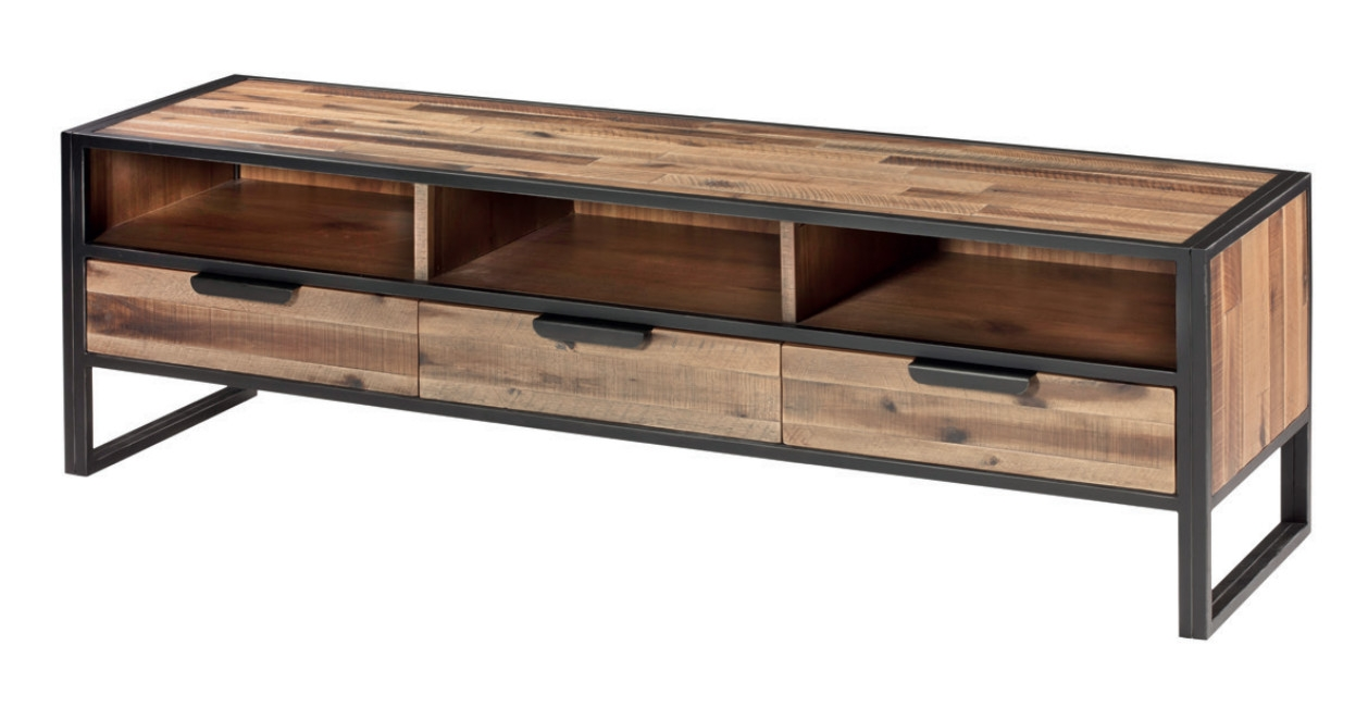 Bajo tv de madera Ele  - Bajo Tv de madera Ele