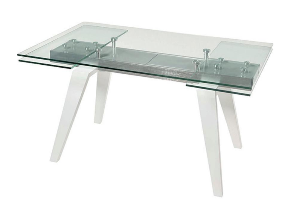 Mesa extensible de cristal  - Mesa extensible de cristal