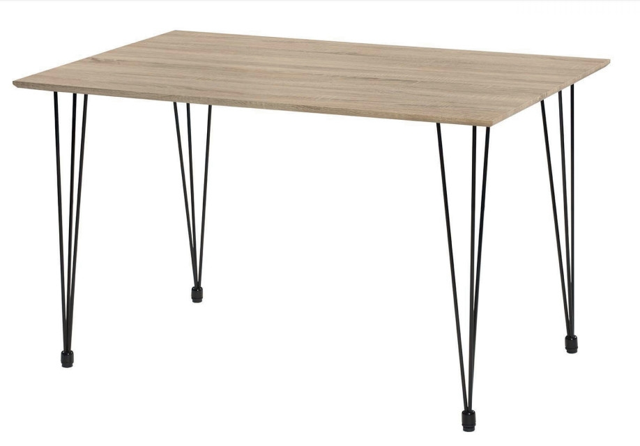 Mesa rectangular de madera - Mesa rectangular de madera