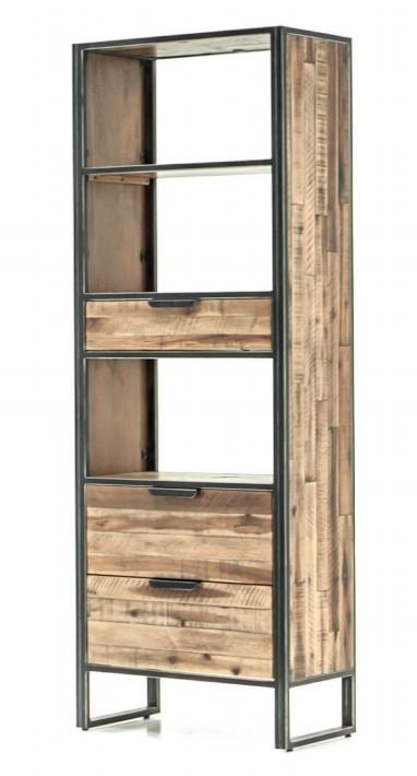 Modulo estantería de madera Ele - Modulo estantería de madera Ele
