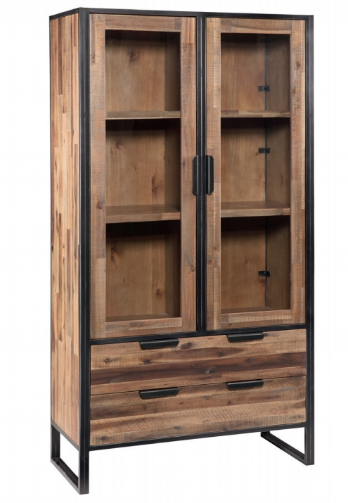 Vitrina de madera Ele - Vitrina de madera Ele