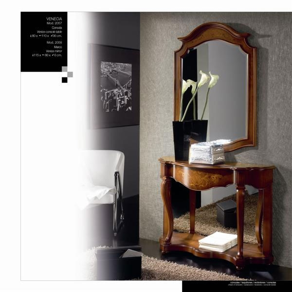 Consola o espejo Venecia W2057-W2058 - Consola o espejo Venecia W2057-W2058