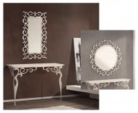 Conjunto de consola y espejo -