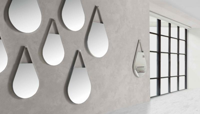 Espejo H2O - Espejo H2O, Espejo con forma de gota