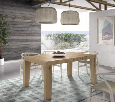 Mesa de comedor extensible Calella - Mesa de comedor extensible con un diseño original y moderno que destaca por su solidez.