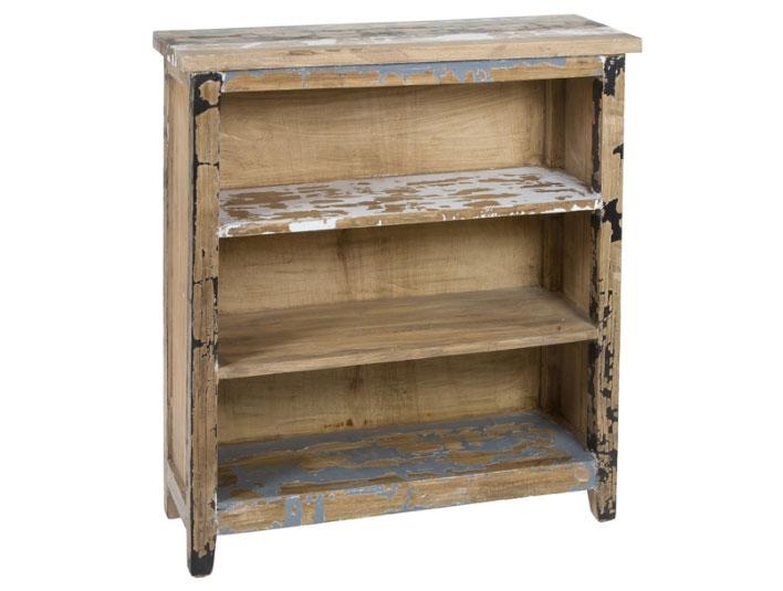 Estantería 3 estantes Antic - Estantería 3 estantes Antic en madera de mindi