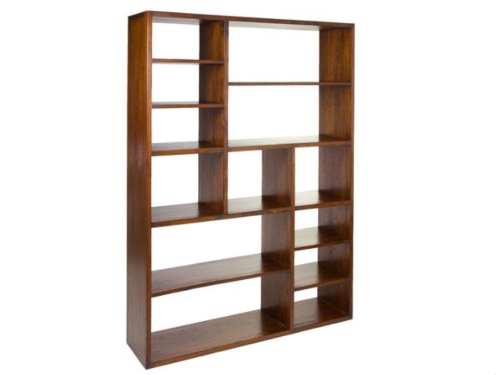 Estantería módulos - Estantería módulos,  fabricado en madera de mindi