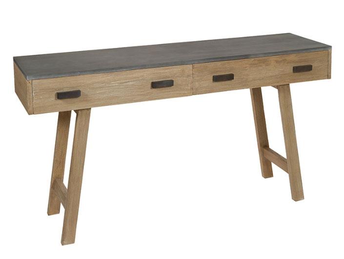 Consola Noa - Consola Noa, madera de mindi, mdf estilo industrial