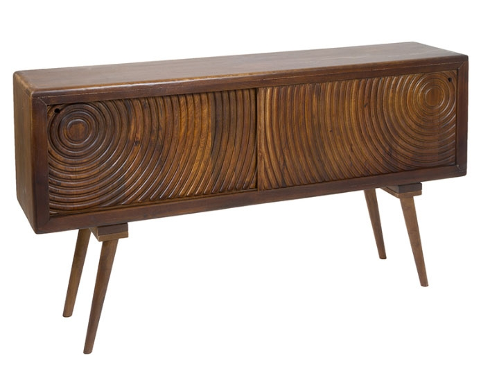 Consola retro - Consola retro,  madera de mango