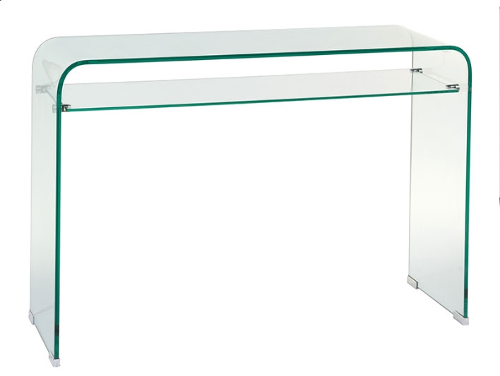Recibidor cristal 2 - Recibidor cristal, fabricado en vidrio curvado 12 mm
