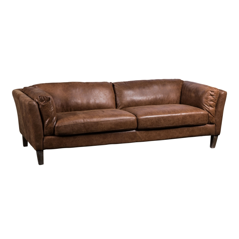 Sofa de cuero James - Sofa de cuero James
