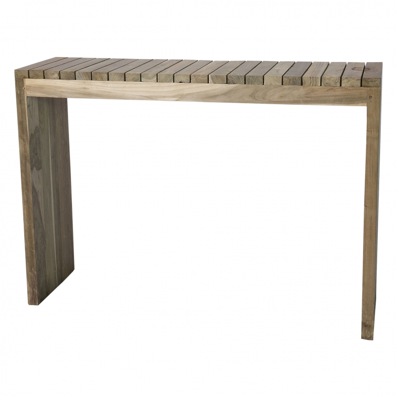 Consola en madera de teca - Consola en madera de teca