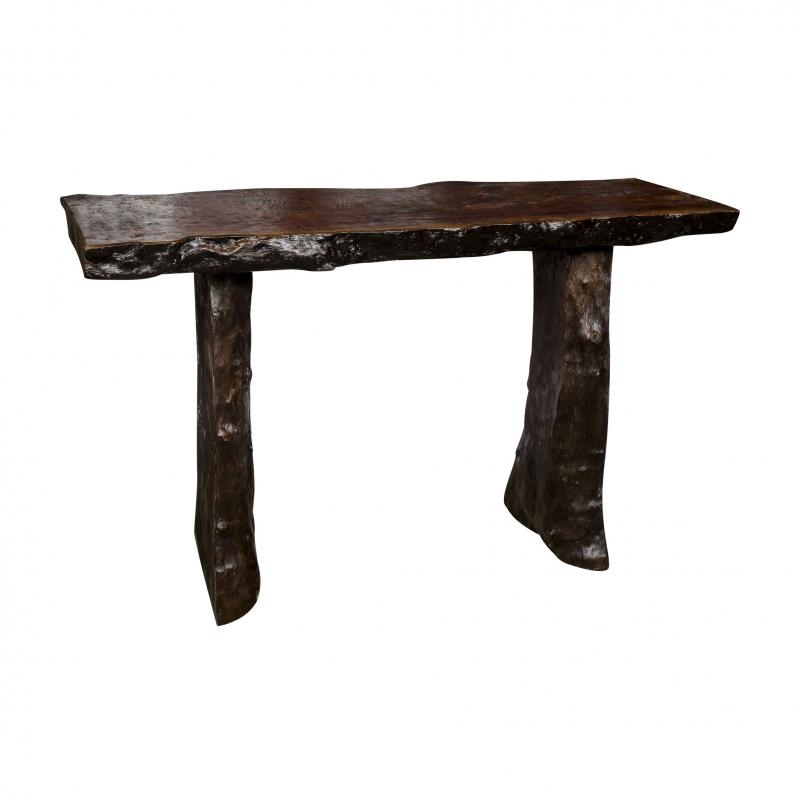Consola de madera Lychee - Consola de madera Lychee