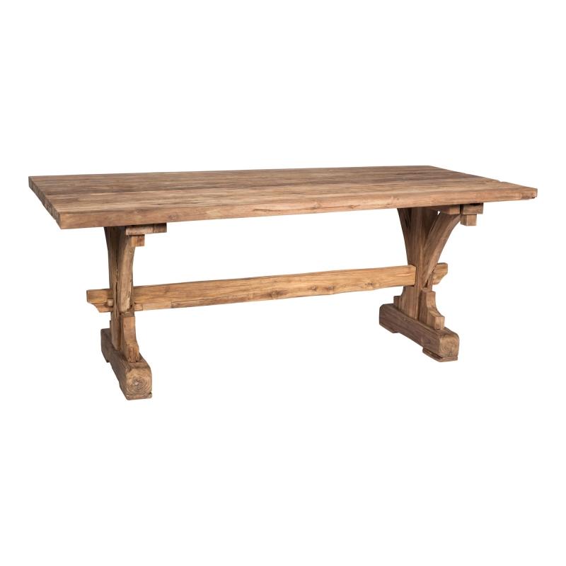 Mesa de comedor rústica - Mesa de comedor rústica