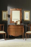Cómoda clásica con espejo - Cómoda de diseño